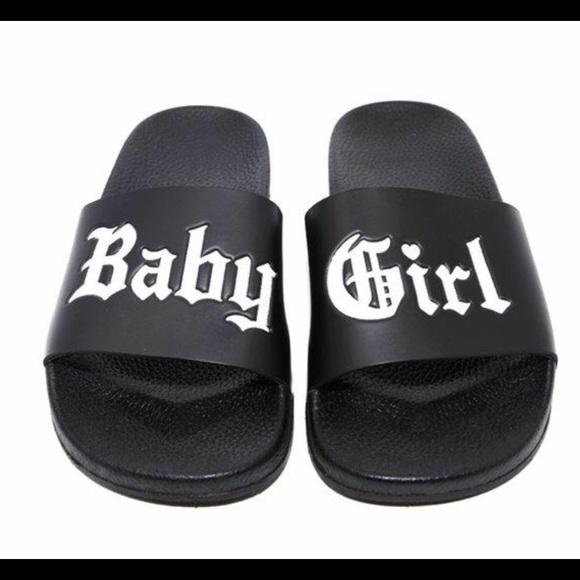 Shoes | Baby Girl Slides | Poshmark
